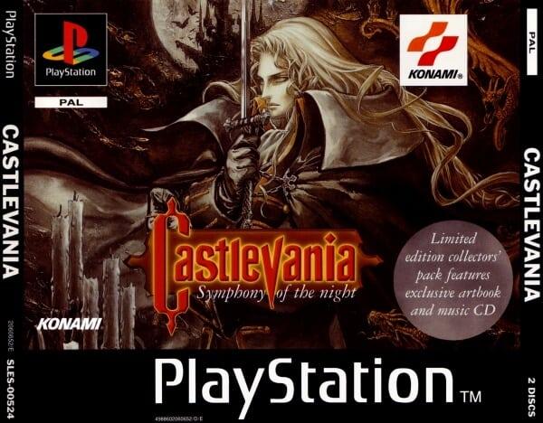 castlevania symphony of the night - Najdroższe gry na PSX wydane w regionie PAL