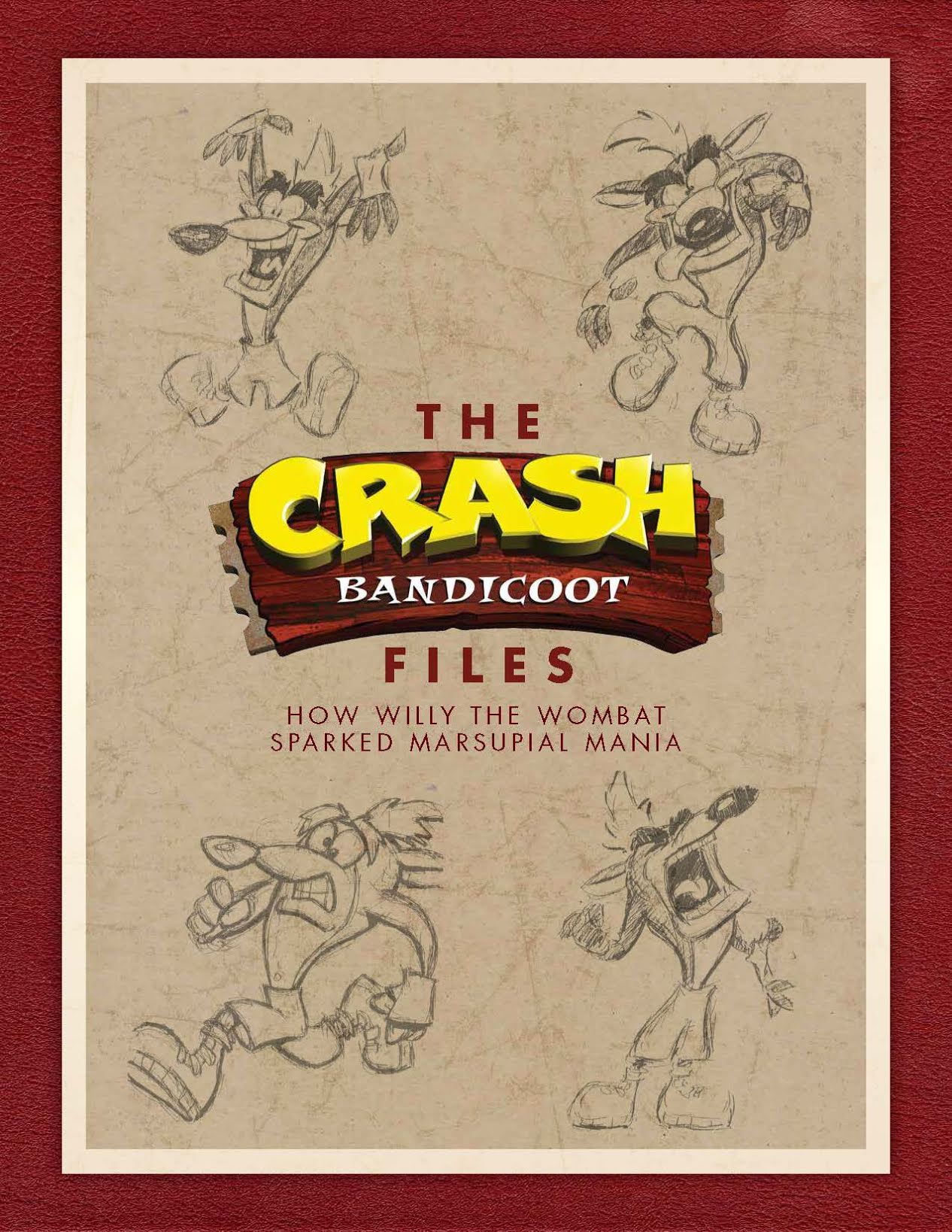 crash bandicoot files cover - Trwają prace nad artbookiem The Crash Bandicoot Files!