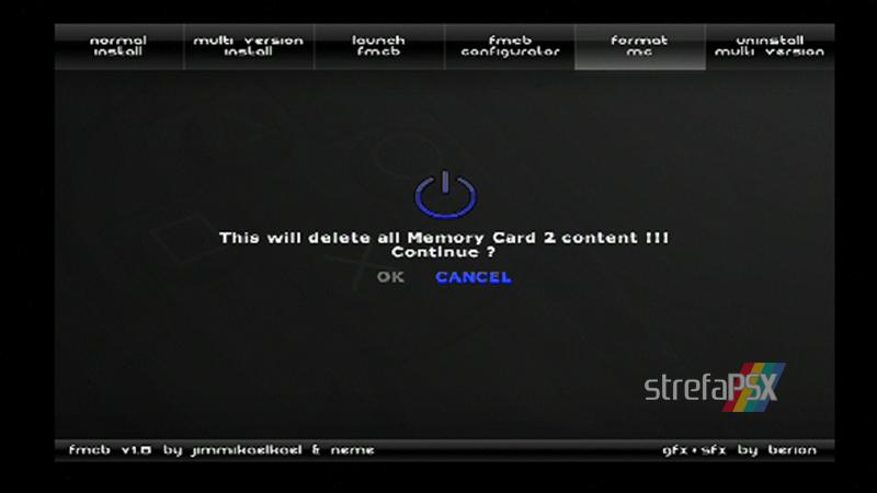 playstation freemcboot ps2 11 - Poradnik instalacji Free MCBoot dla PlayStation 2 / PS2