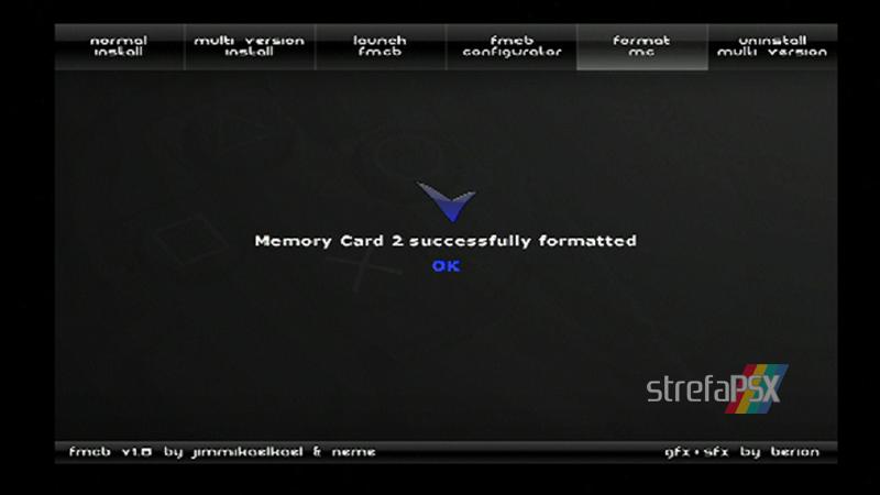 playstation freemcboot ps2 14 - Poradnik instalacji Free MCBoot dla PlayStation 2 / PS2