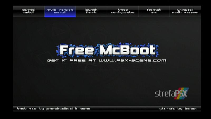 playstation freemcboot ps2 15 - Poradnik instalacji Free MCBoot dla PlayStation 2 / PS2