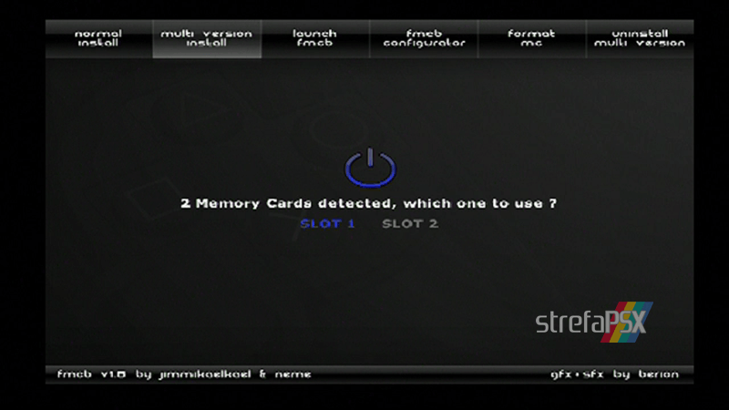 playstation freemcboot ps2 16 - Poradnik instalacji Free MCBoot dla PlayStation 2 / PS2