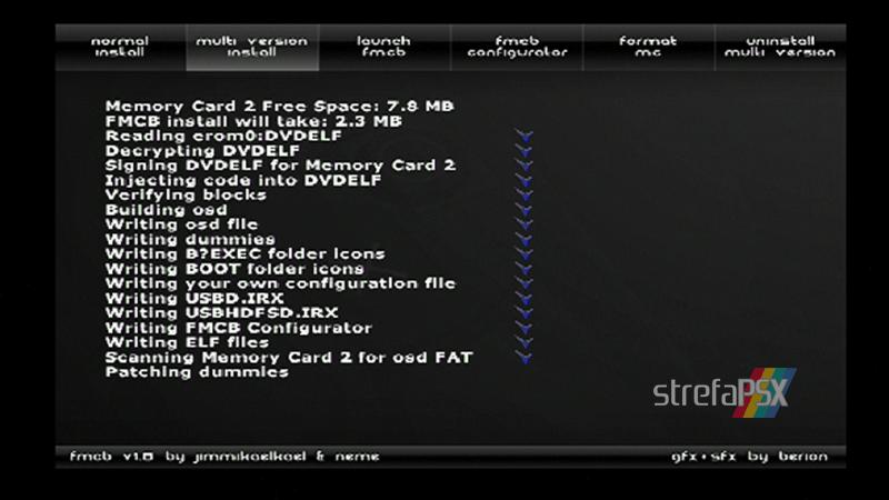 playstation freemcboot ps2 26 - Poradnik instalacji Free MCBoot dla PlayStation 2 / PS2
