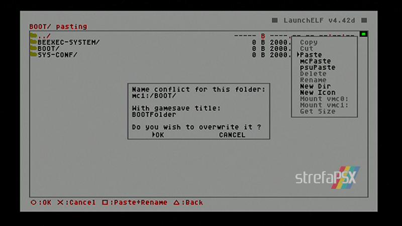playstation freemcboot ps2 39 - Poradnik instalacji Free MCBoot dla PlayStation 2 / PS2