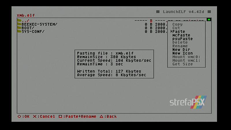 playstation freemcboot ps2 40 - Poradnik instalacji Free MCBoot dla PlayStation 2 / PS2