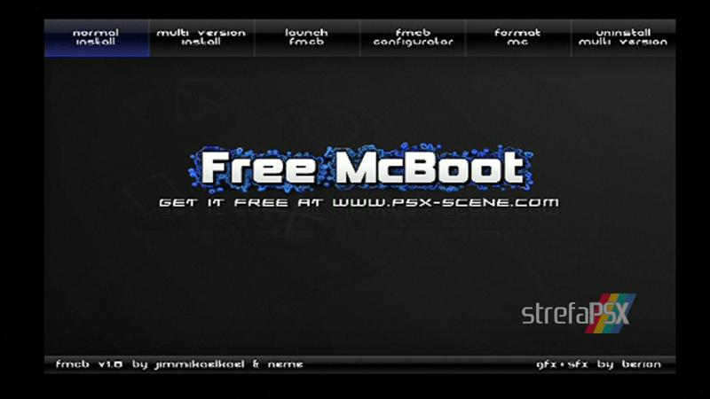 playstation freemcboot ps2 5 - Poradnik instalacji Free MCBoot dla PlayStation 2 / PS2