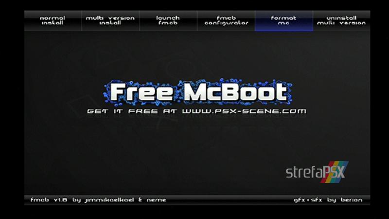 playstation freemcboot ps2 7 - Poradnik instalacji Free MCBoot dla PlayStation 2 / PS2