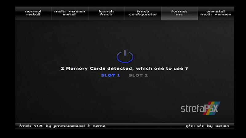 playstation freemcboot ps2 9 - Poradnik instalacji Free MCBoot dla PlayStation 2 / PS2