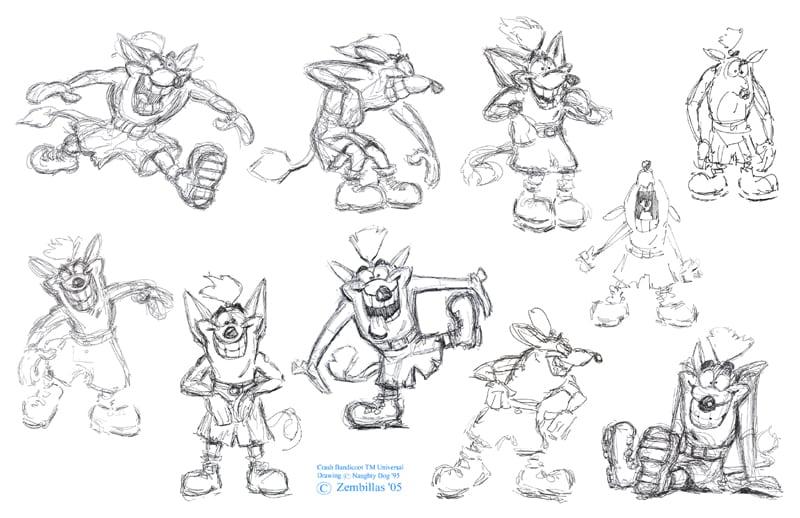 willy wombat - Trwają prace nad artbookiem The Crash Bandicoot Files!
