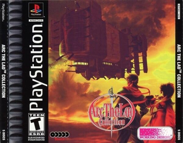 arc the lad collection - Najdroższe gry na PSX wydane w regionie NTSC-U/C