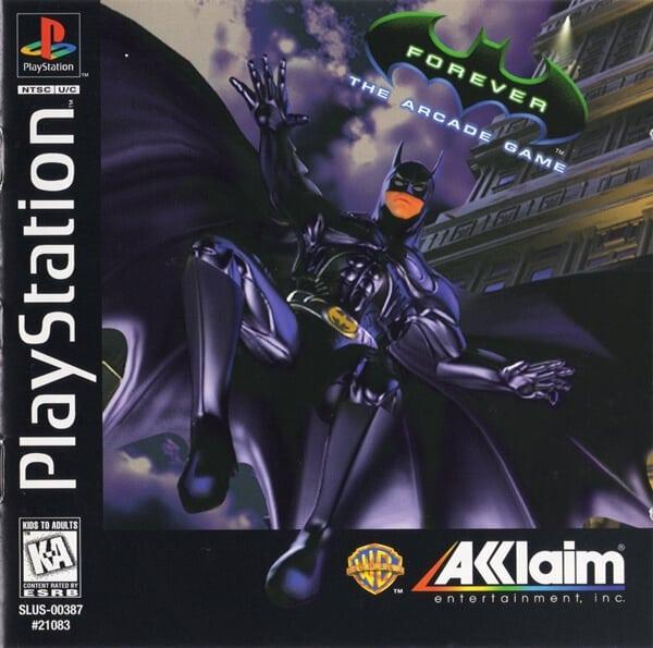 batman forever - Najdroższe gry na PSX wydane w regionie NTSC-U/C