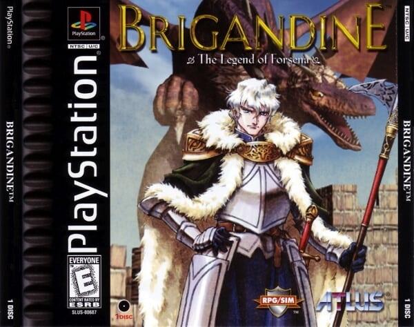 brigandine - Najdroższe gry na PSX wydane w regionie NTSC-U/C