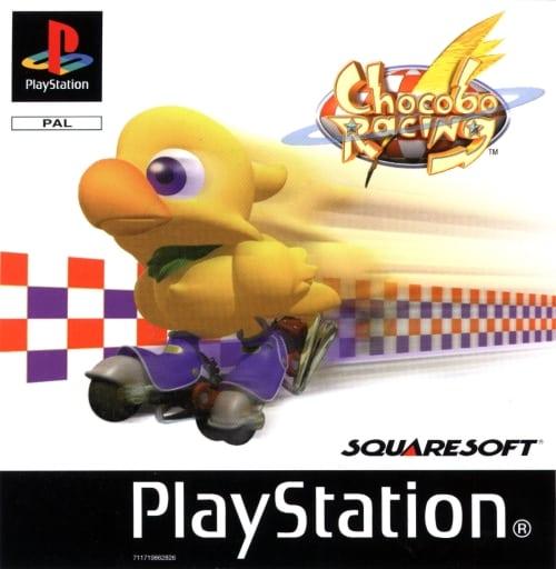 chocobo racing - Najdroższe gry na PSX wydane w regionie PAL