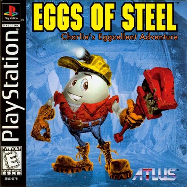 eggs of steel - Najdroższe gry na PSX wydane w regionie NTSC-U/C