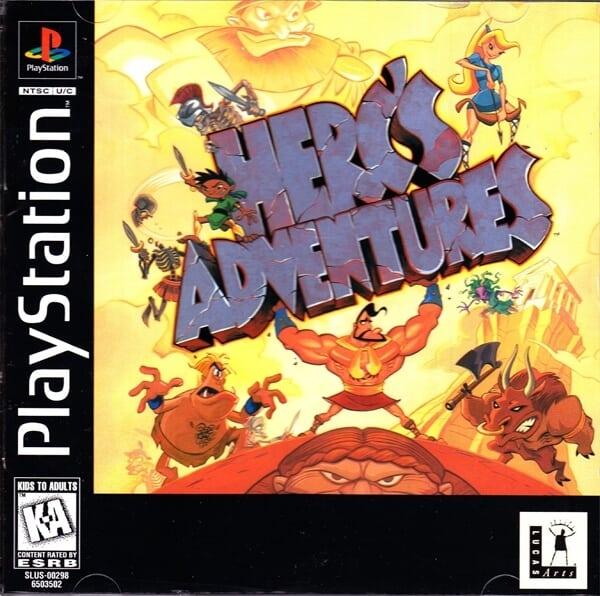 hercs adventures 1 - Najdroższe gry na PSX wydane w regionie NTSC-U/C