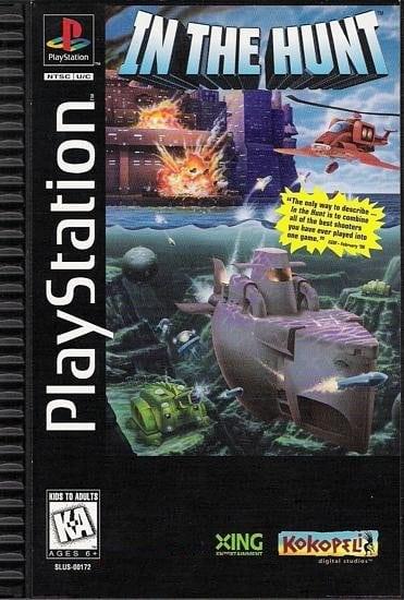 in the hunt 1 - Najdroższe gry na PSX wydane w regionie NTSC-U/C