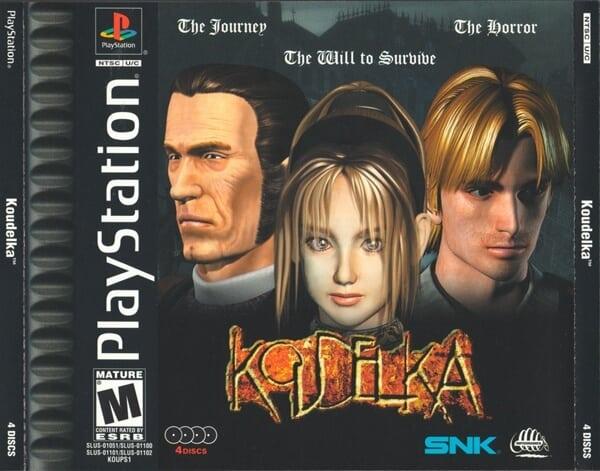 koudelka - Najdroższe gry na PSX wydane w regionie NTSC-U/C