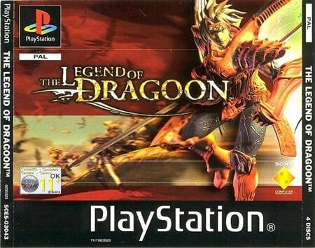 legend of dragoon pal - Najdroższe gry na PSX wydane w regionie PAL
