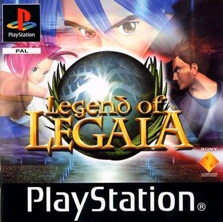legend of legaia pal - Najdroższe gry na PSX wydane w regionie PAL