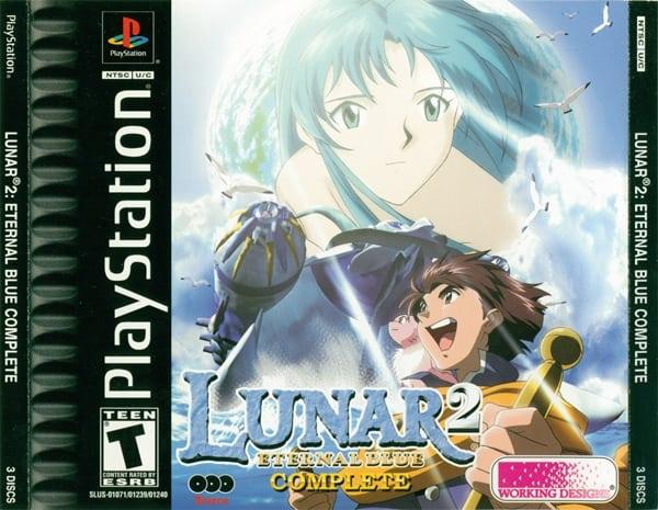 lunar 2 - Najdroższe gry na PSX wydane w regionie NTSC-U/C