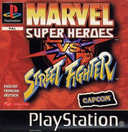marvel - Najdroższe gry na PSX wydane w regionie PAL