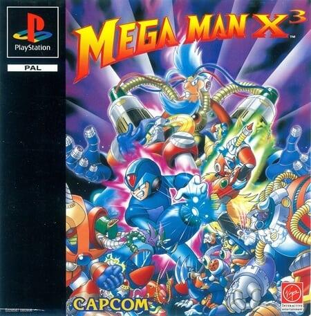megaman x3 - Najdroższe gry na PSX wydane w regionie PAL