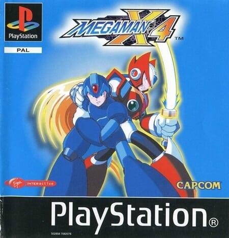 megaman x4 - Najdroższe gry na PSX wydane w regionie PAL