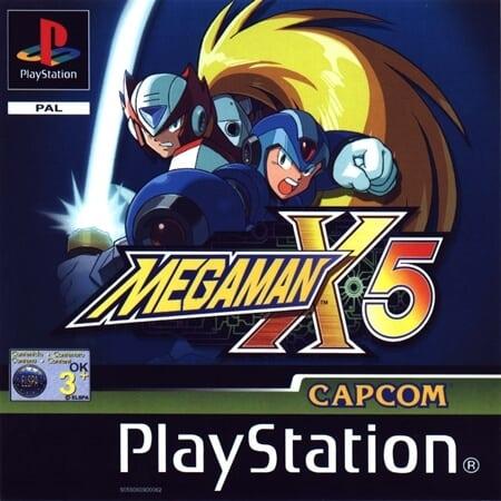 megaman x5 - Najdroższe gry na PSX wydane w regionie PAL