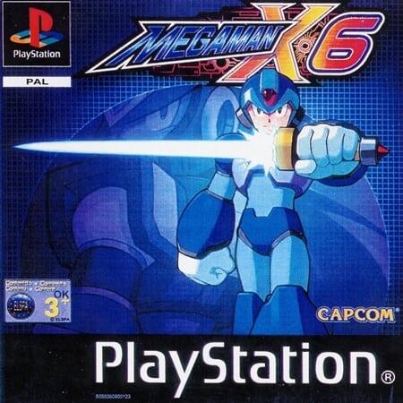 megaman x6 - Najdroższe gry na PSX wydane w regionie PAL