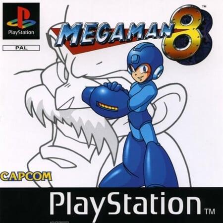 megman 8 - Najdroższe gry na PSX wydane w regionie PAL