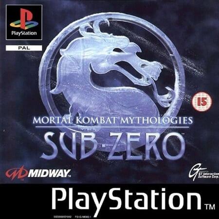 mortal kombat sub zero - Najdroższe gry na PSX wydane w regionie PAL