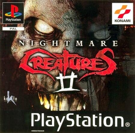 nightmare creatures - Najdroższe gry na PSX wydane w regionie PAL