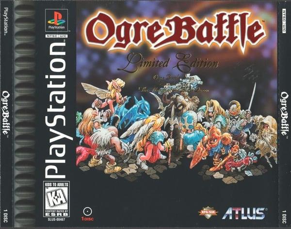 ogre battle - Najdroższe gry na PSX wydane w regionie NTSC-U/C