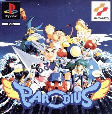 parodius - Najdroższe gry na PSX wydane w regionie PAL