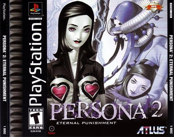 persona 2 - Najdroższe gry na PSX wydane w regionie NTSC-U/C