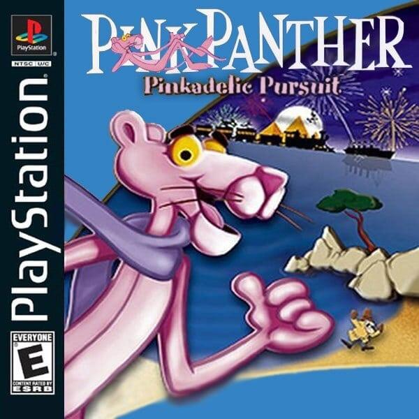 pink panther - Najdroższe gry na PSX wydane w regionie NTSC-U/C