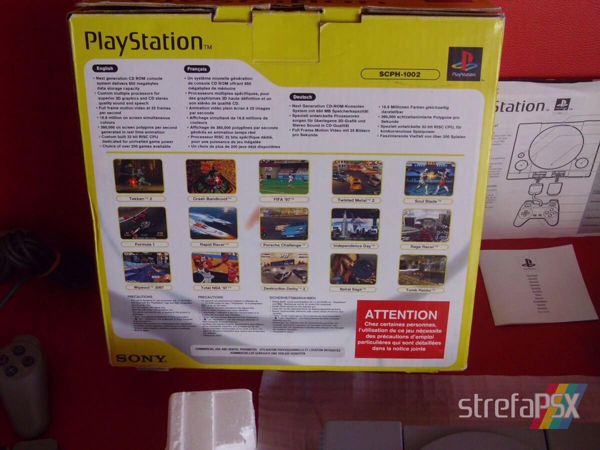 psx scph 1002 new 002 - Niestandardowe wydanie PlayStation SCPH-1002