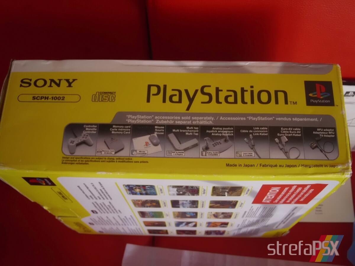 psx scph 1002 new 003 - Niestandardowe wydanie PlayStation SCPH-1002