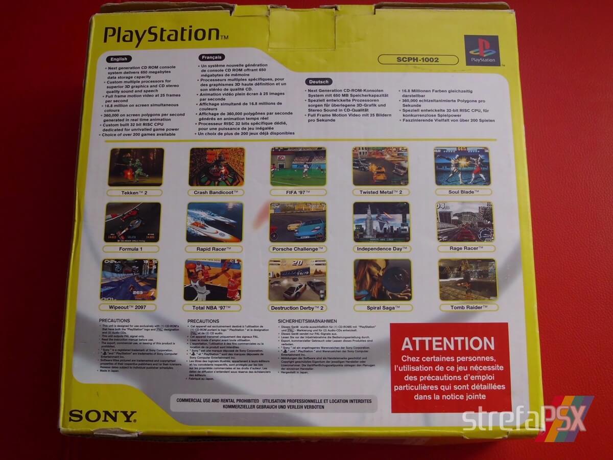 psx scph 1002 new 007 - Niestandardowe wydanie PlayStation SCPH-1002