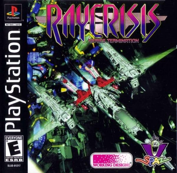 raycrisis ntsc - Najdroższe gry na PSX wydane w regionie NTSC-U/C