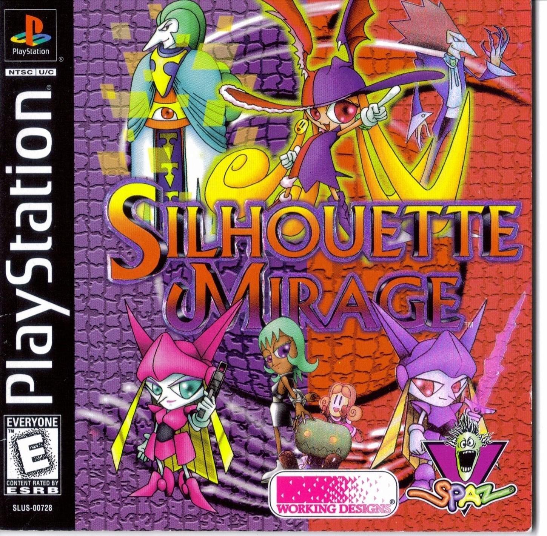 silhouette mirage - Najdroższe gry na PSX wydane w regionie NTSC-U/C