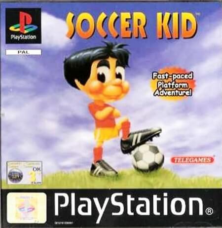 soccer kid - Najdroższe gry na PSX wydane w regionie PAL