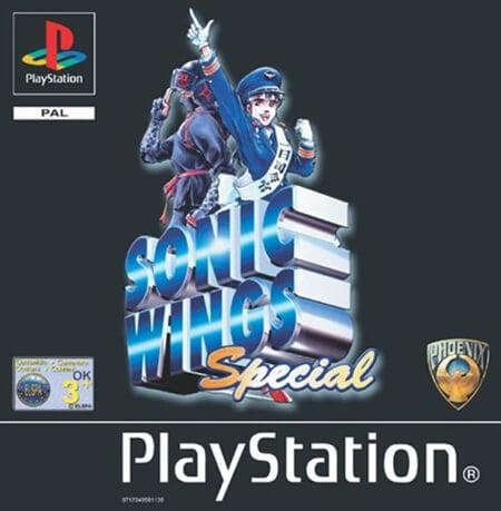 sonic wings - Najdroższe gry na PSX wydane w regionie PAL
