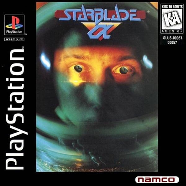starblade alpha ntsc - Najdroższe gry na PSX wydane w regionie NTSC-U/C