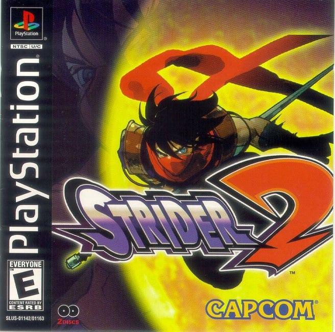 strider2 - Najdroższe gry na PSX wydane w regionie NTSC-U/C