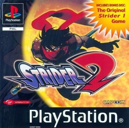 strider 2 - Najdroższe gry na PSX wydane w regionie PAL