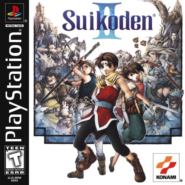suikoden ii - Najdroższe gry na PSX wydane w regionie NTSC-U/C