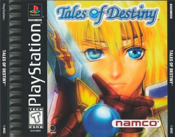 tales of destiny - Najdroższe gry na PSX wydane w regionie NTSC-U/C
