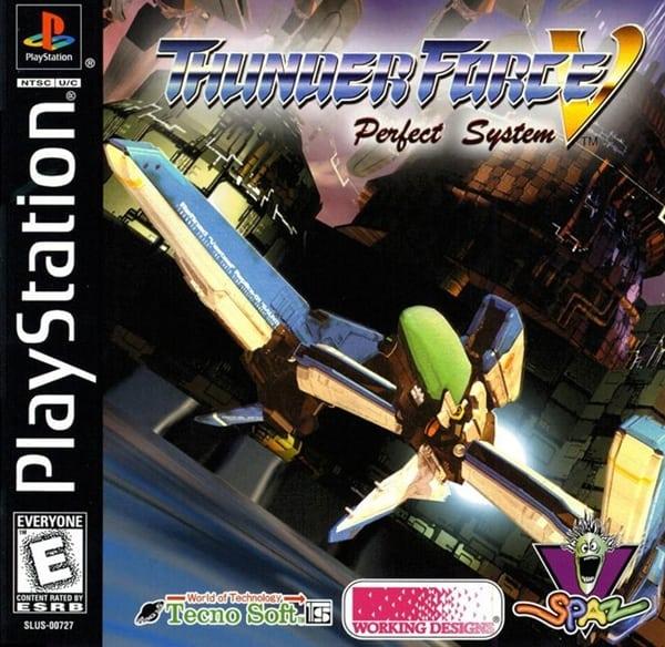 thunder force - Najdroższe gry na PSX wydane w regionie NTSC-U/C