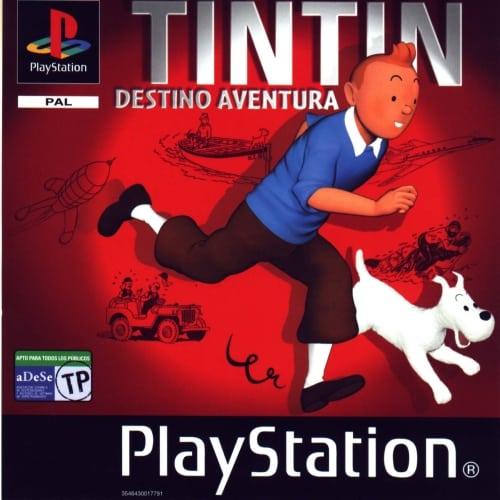 tintin - Najdroższe gry na PSX wydane w regionie PAL